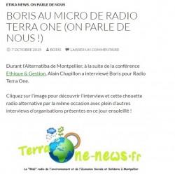 BORIS RADIO TERRA