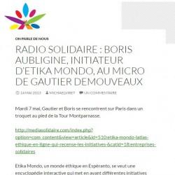 Radio solidaire