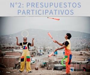 Presupestos participativos
