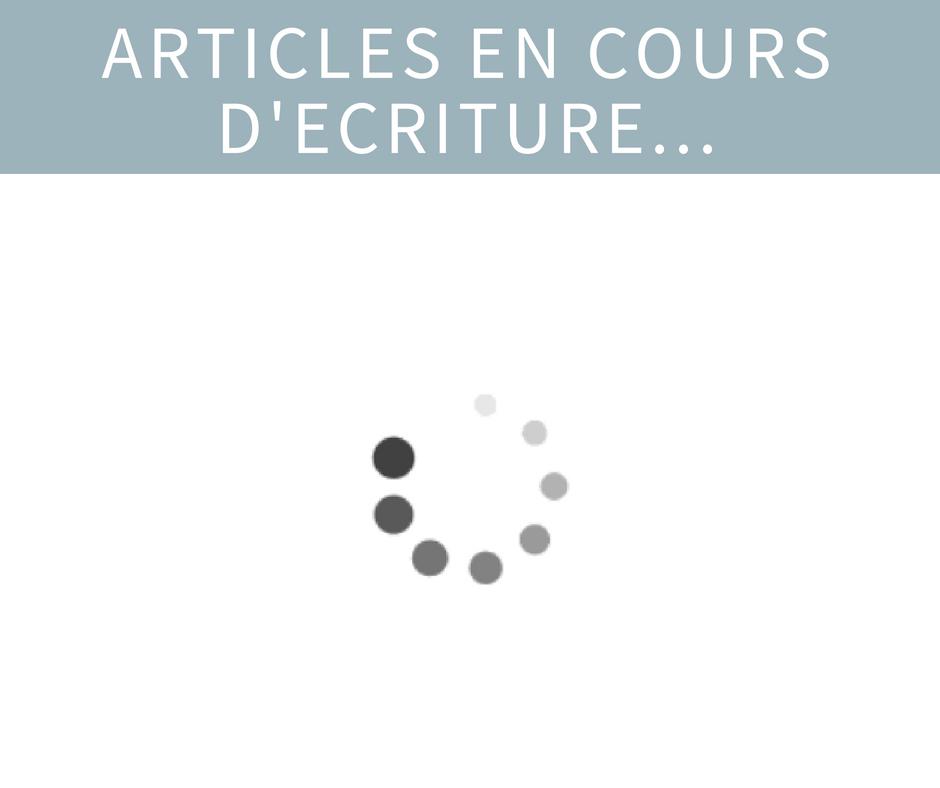 Articles en attente